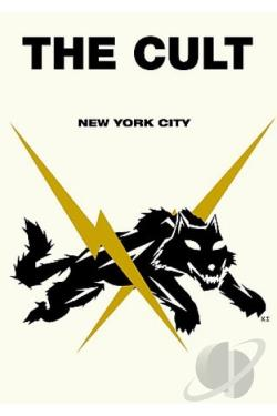 Cult - Irving Plaza, New York City DVD Cover Art