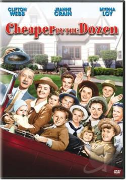 Cheaper by the Dozen DVD Cover Art