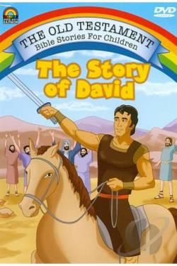 Old Testament Bible Stories For Children - The Story of David DVD Cover Art