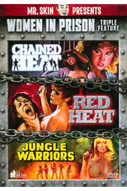 Women in Prison Triple Feature DVD Cover Art