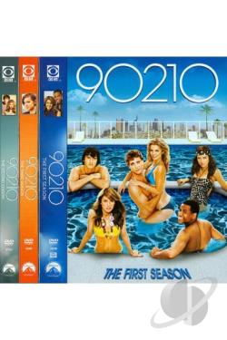 90210: Seasons 1-3 DVD Cover Art