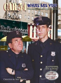 Car 54, Where Are You? - The Complete Second Season DVD Cover Art