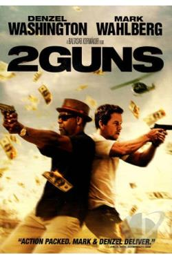 2 Guns DVD Cover Art