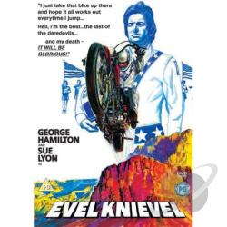 Evel Knievel DVD Cover Art