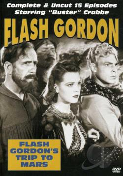 Flash Gordon's Trip to Mars DVD Cover Art