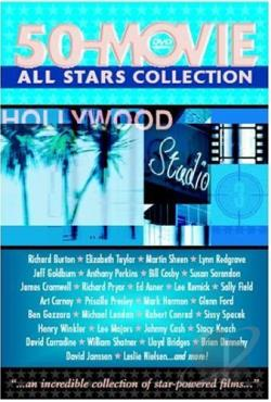 All Stars 50 Movie Collection DVD Cover Art