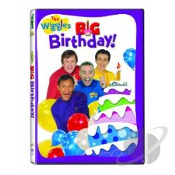 Wiggles: Big Birthday! DVD Cover Art