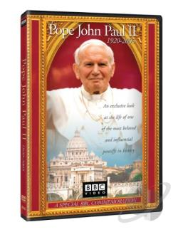 Pope John Paul II DVD Cover Art