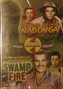 Nabonga/Swamp Fire DVD Cover Art