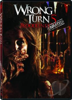 Wrong Turn 5 DVD Cover Art