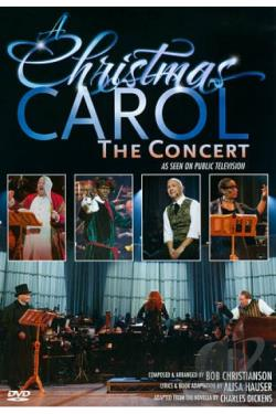 Christmas Carol: The Concert DVD Cover Art