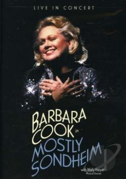 Barbara Cook in Mostly Sondheim DVD Cover Art