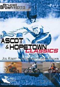 Bruce Brown Moto Classics - Ascot & Hopetown Classics DVD Cover Art