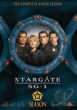 Stargate SG-1 - The Complete Ninth Season DVD Cover Art