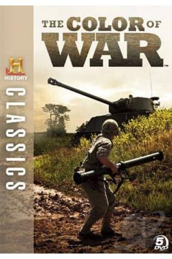 History Classics: The Color of War DVD Cover Art