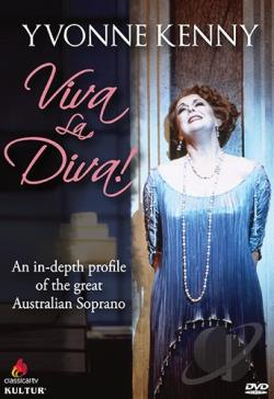 Yvonne Kenny: Viva la Diva! DVD Cover Art