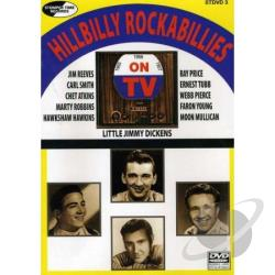 Hillbilly Rockabillies on TV DVD Cover Art