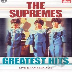Supremes: Greatest Hits - Live in Amsterdam DVD Cover Art