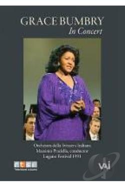 Grace Bumbry - Grace Bumbry in Concert DVD Cover Art