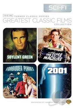 TCM Greatest Classic Films: Sci-Fi DVD Cover Art