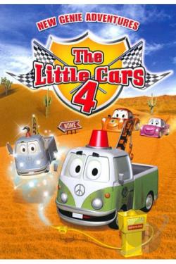 Little Cars, Vol. 4: New Genie Adventures DVD Cover Art