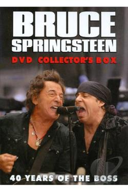 Bruce Springsteen DVD Collector's Box DVD Cover Art