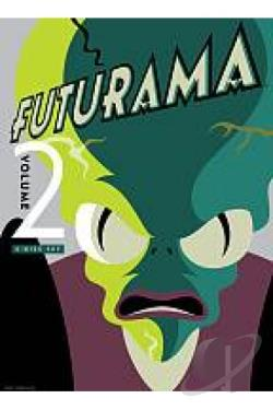 Futurama - Volume 2 DVD Cover Art