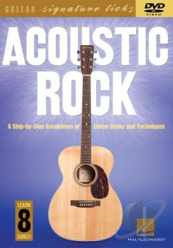 Acoustic Rock DVD Cover Art