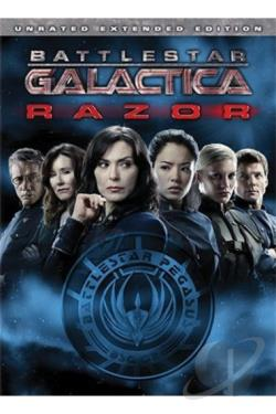 Battlestar Galactica: Razor DVD Cover Art