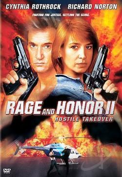 Rage and Honor II - Hostile Takeover DVD Cover Art