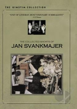 Collected Shorts of Jan Svankmajer DVD Cover Art