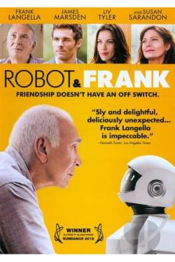 Robot & Frank DVD Cover Art