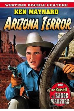 Rare Western Double Feature: Arizona Terror/Range Warfare DVD Cover Art