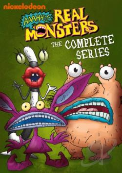 Aaahh!!! Real Monsters - The Complete Series DVD Cover Art