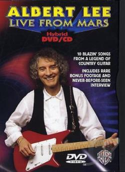 Albert Lee: Live From Mars DVD Cover Art