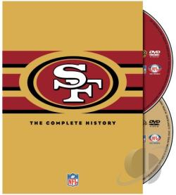 NFL History of the San Francisco 49ers DVD Cover Art