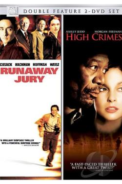 Runaway Jury/High Crimes DVD Cover Art