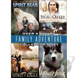 Family Adventure Collector's Set: Spirit Bear/Sign Of The Otter/Spirit Of The Eagle/White Fang DVD Cover Art