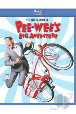 Pee-Wee's Big Adventure BRAY Cover Art