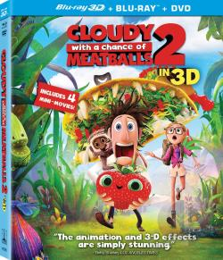 Cloudy With a Chance of Meatballs 2 BRAY Cover Art