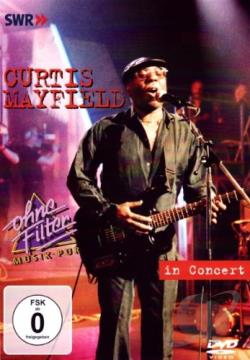 Curtis Mayfield - In Concert DVD Cover Art