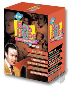 Bob Hope 100th Anniversary Collection DVD Cover Art