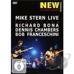 Mike Stern - New Morning: The Paris Concert DVD Cover Art