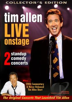 Tim Allen - Live On Stage DVD Cover Art