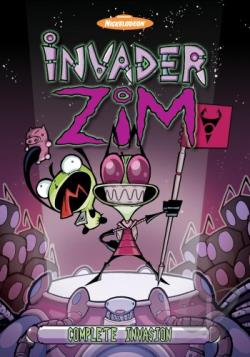 Invader Zim Box Set DVD Cover Art