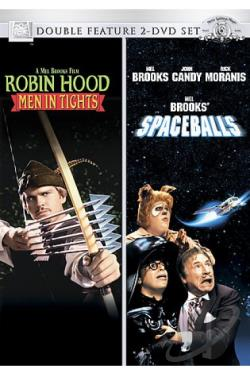 Robin Hood: Men in Tights/Spaceballs: The Movie DVD Cover Art