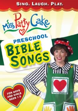 Miss Pattycake: Preschool Bible Songs DVD Cover Art
