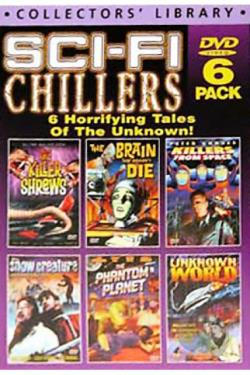 Sci-Fi Chillers - 6 DVD Set DVD Cover Art