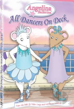 Angelina Ballerina - All Dancers On Deck DVD Cover Art