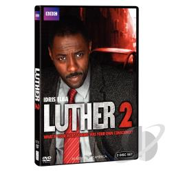 Luther - The Complete Second Season DVD Cover Art